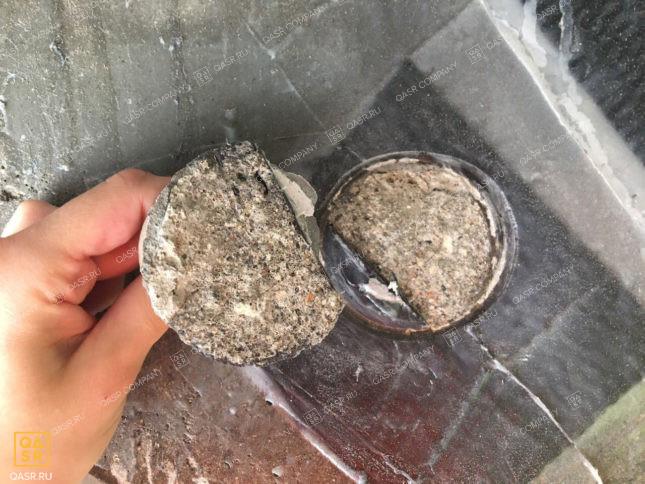 отчет экспертизы качества бетона