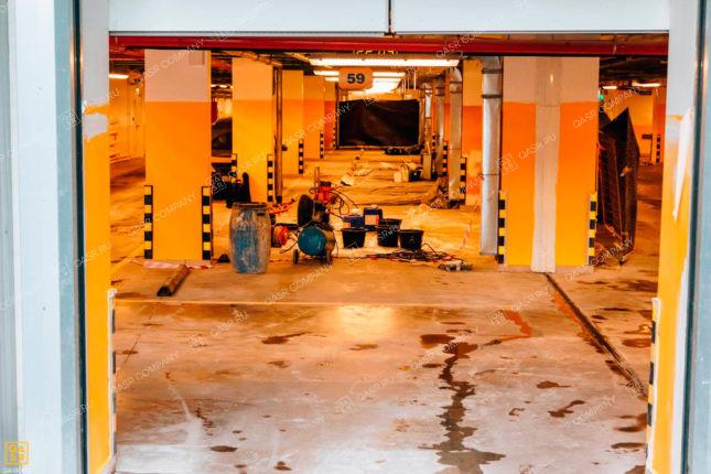 гидроизоляция подземной автостоянки в москве
