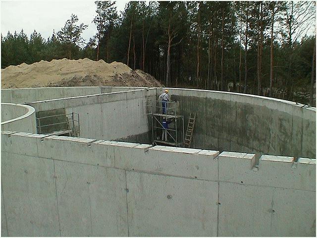 проект по гидроизоляции резервуаров