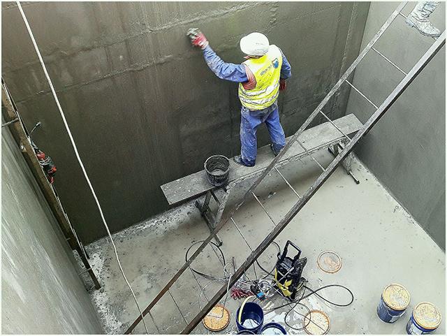 технология защиты металлических и бетонных сооружений