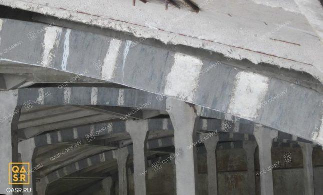 укрепление кровельных конструкций промышленных зданий